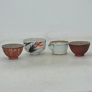 日本小茶具四个
