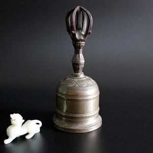清光绪宝莲纹铜铃
