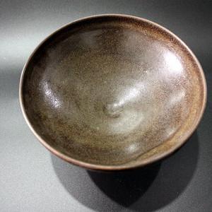 北宋茶叶沫釉大茶碗