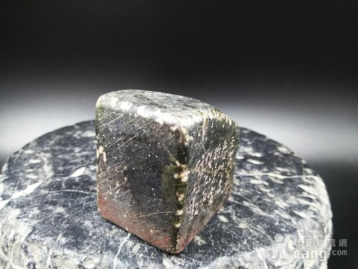 古印 寿山艾叶绿 冻石闲章图3