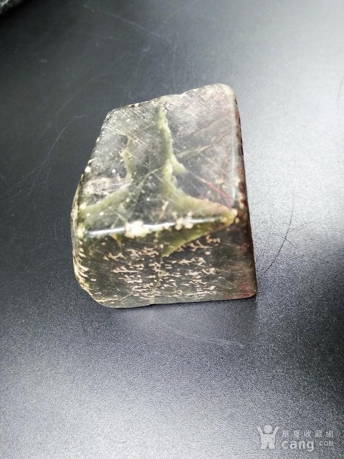 古印 寿山艾叶绿 冻石闲章图8