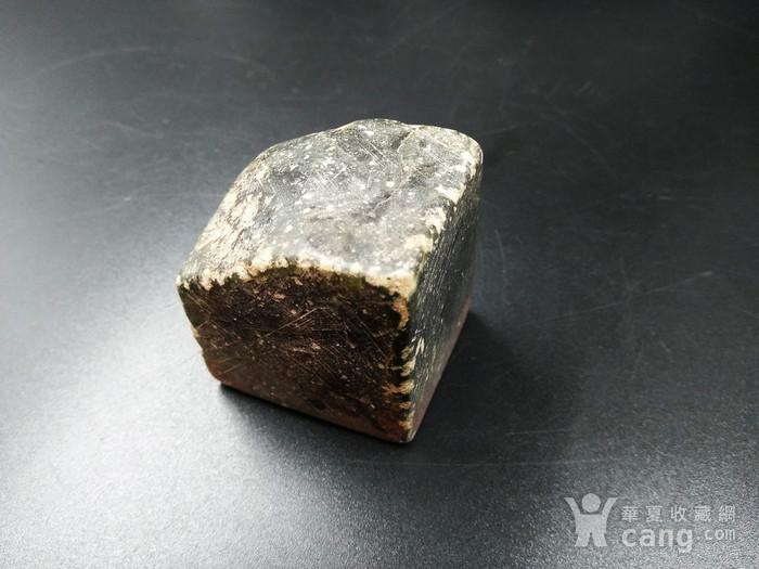 古印 寿山艾叶绿 冻石闲章图10