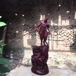 大师工:印度小叶紫檀,《斗战圣佛》