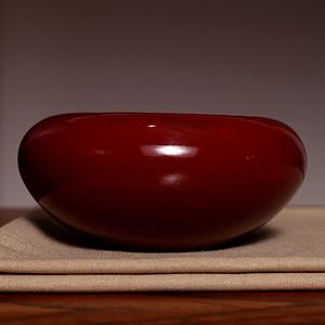 藏海淘 单色釉红釉大瓷洗 C203