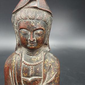 清代铜镏全佛像