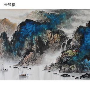《峡江春韵图》