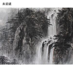 《松泉飞瀑图》