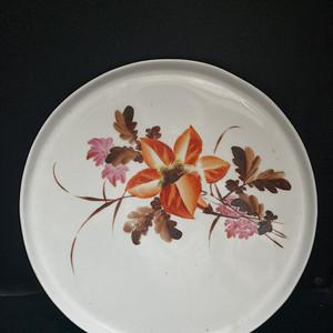 文革 粉彩大茶盘