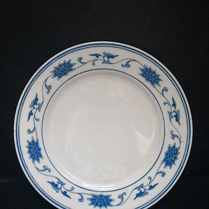 70年代 人民瓷厂青花盘