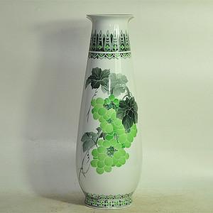 湖南瓷研所精制醴陵釉下彩瓷瓶