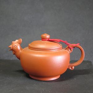 90年代生肖鸡紫砂壶