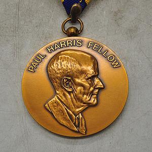 保罗哈里斯之友纪念章