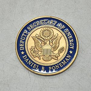 美国能源部副部长丹尼尔.庞曼徽章