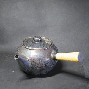 明治时期鎏银急需小壶