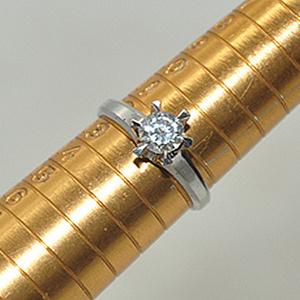 2.7克镶水晶戒指