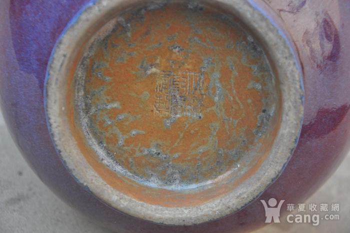 清乾隆红釉长颈瓶图4