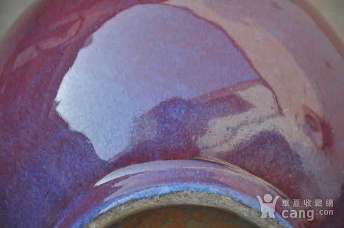 清乾隆红釉长颈瓶图6