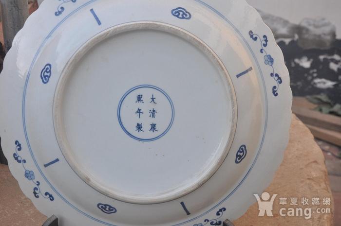 清青花仕女图大盘图5