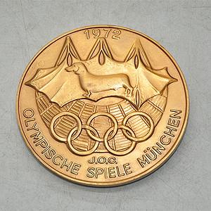 日本参加1972年慕尼黑奥运会纪念章