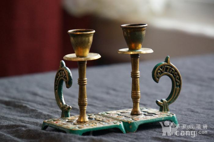 520 以色列传统纯铜錾花烛台图4