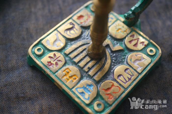 520 以色列传统纯铜錾花烛台图10