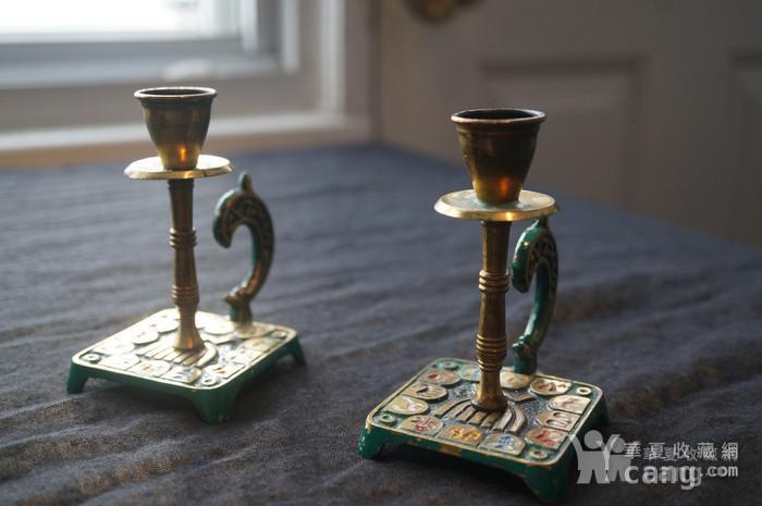 520 以色列传统纯铜錾花烛台图11