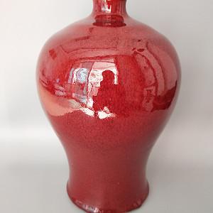 520 民国至解放红釉梅瓶