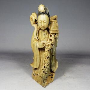 清代寿山石人物雕像