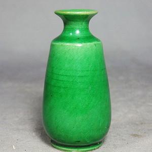 清代苹果绿小瓶