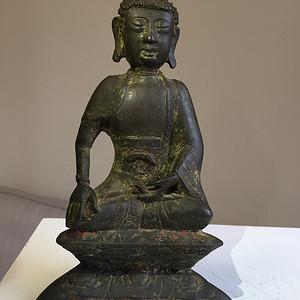 元代铜雕佛祖