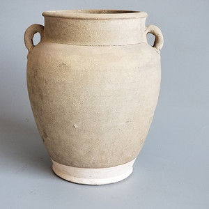 耀州茶叶末釉两系罐
