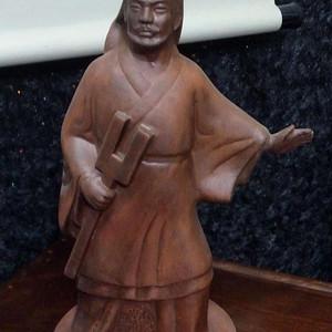 520 紫砂大禹治水纪念塑像
