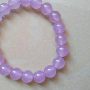 漂亮的天然紫粉晶一条
