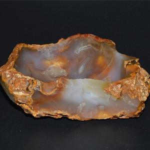 玛瑙原石随型雕水洗