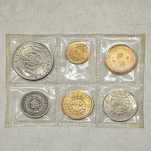 澳门钱币一套六枚