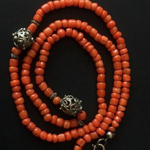 8074欧洲回流珊瑚项链