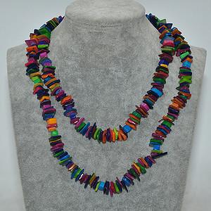 115克染色石材项链