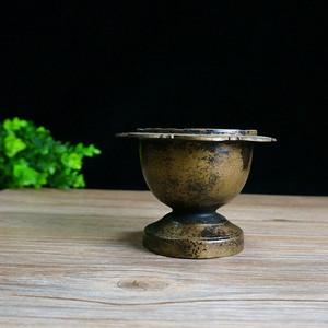 民国老铜烛台