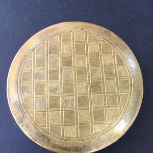 8031欧洲回流贵族铜粉底盒