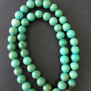 8040绿松石项链