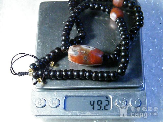 云南保山南红老珠子项链图10