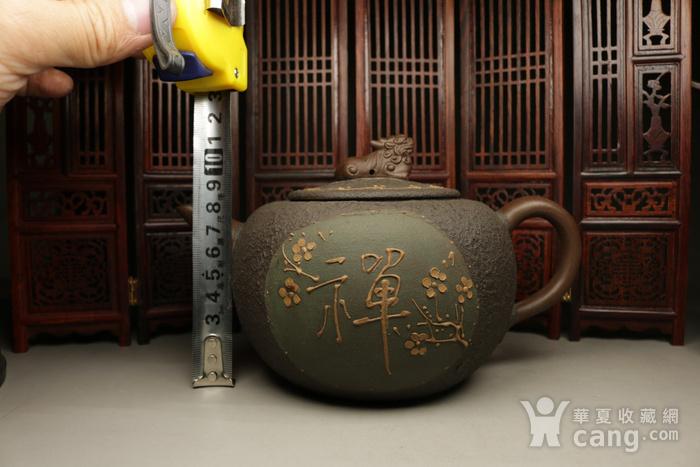 乡货精品旧藏  上等纯手工的铁砂壶图3