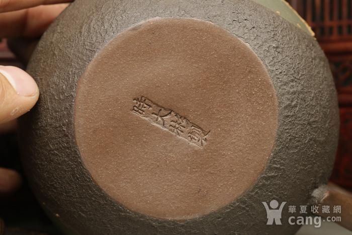乡货精品旧藏  上等纯手工的铁砂壶图9