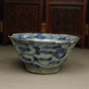 明代瓷碗,品相如图