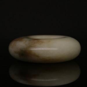 清代中晚期和田籽料平安扣。