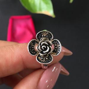 8096欧洲回流925银花戒指