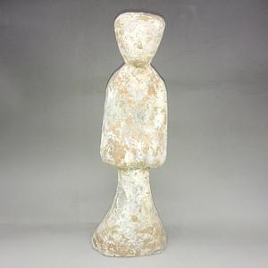 汉代仕女人物陶俑