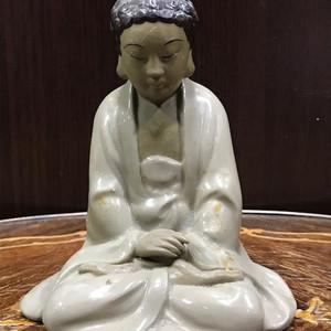 5039 石湾窑释迦摩尼像