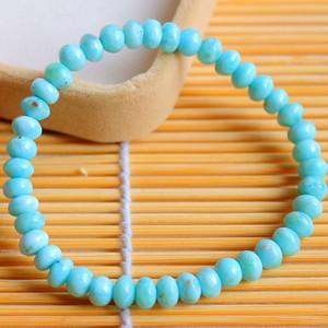 多米尼加海纹石!稀有珍贵宝石纯天然拉利玛宝石手链