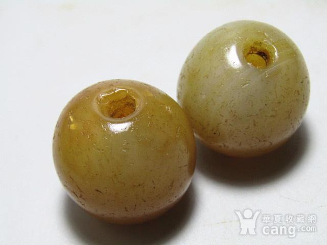 唐 玛瑙珠一对 包浆熟厚图10